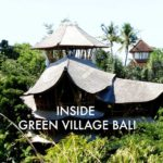 A Peek Inside a Bamboo House in Green Village Bali