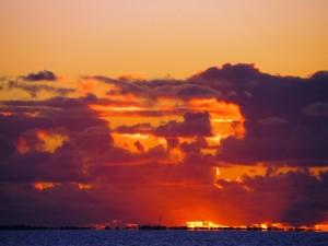 Colourful Sunset South Beach Fremantle