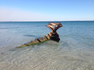 Shipwreck Coogee Beach South Fremantle